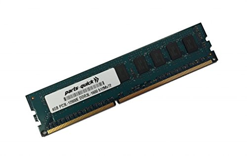 4GB メモリ memory for Supermicro SuperServer 5018D-MTRF (Super X10SLM-F) DDR3L-1600MHz PC3L-12800E ECC UDIMM (PARTS-クイック BRAND) (海外取寄せ品)
