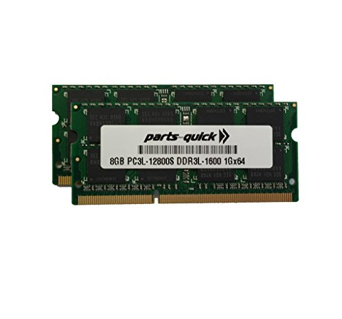 16GB キット 2 X 8GB Memory Upgrade for Acer Aspire V V3-371-56R5 DDR3L 1600MHz PC3L-12800 SODIMM RAM (PARTS-クイック BRAND) (海外取寄せ品)