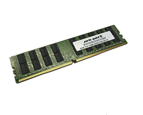 32GB メモリ memory for Supermicro SuperServer 2028TP-HTTR (Super X10DRT-PT) DDR4 PC4-17000 2133 MHz LRDIMM RAM (PARTS-クイック BRAND) (海外取寄せ品)