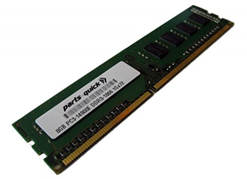 8GB メモリ memory Upgrade for Supermicro X9SRA Motherboard DDR3 1866MHz PC3-14900E UDIMM (PARTS-クイック BRAND) (海外取寄せ品)
