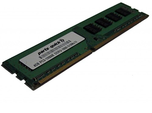 4GB メモリ memory for エイスース ASUS P9 Motherboard P9D-V DDR3 PC3-12800E ECC RAM Upgrade (PARTS-クイック BRAND) (海外取寄せ品)