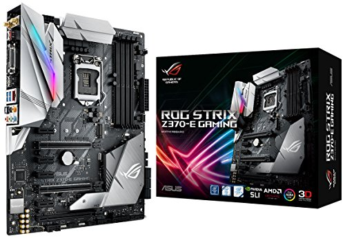 ASUS ROG STRIX Z370-E GAMING LGA1151 DDR4 DP HDMI DVI M.2 Z370 ATX Motherboard with onboard 802.11ac WiFi and USB 3.1 for 8th Generation Intel Core Processors (海外取寄せ品)