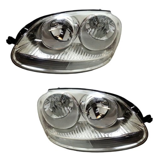 2005 05 06 07 08 Volkswagen Jetta Headlight Headlamp PR (海外取寄せ品)