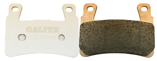 Galfer FD266G1375 HH Sintered Advanced Ceramic Brake Pad (海外取寄せ品)