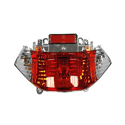Complete Tail Light Assembly for Tao Tao ATM50 / Baccio Heat 50cc and other Scooters (海外取寄せ品)