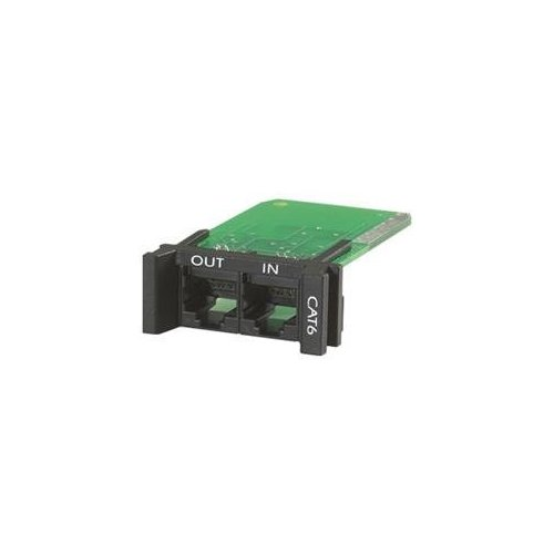 APC PNETR6 Surge モジュール for CAT6 or CAT5/5e Network ライン, Replaceable, 1U, Use with PRM4 or PRM24 Chassis (海外取寄せ品)