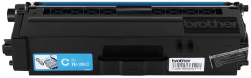 Brother Genuine TN336C ハイ Yield シアン Toner Cartridge (海外取寄せ品)