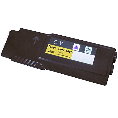 SPEEDY TONER XR 6600-Y Compatible Laser リプレイスメント Cartridge for Xerox Printer (海外取寄せ品)