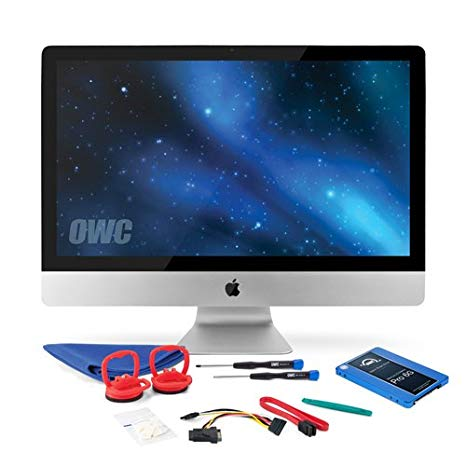 OWC 1.0TB SSD Upgrade キット For 2010 27-インチ iMacs, OWC Mercury Extreme プロ 1.0TB 6G SSD, 18
