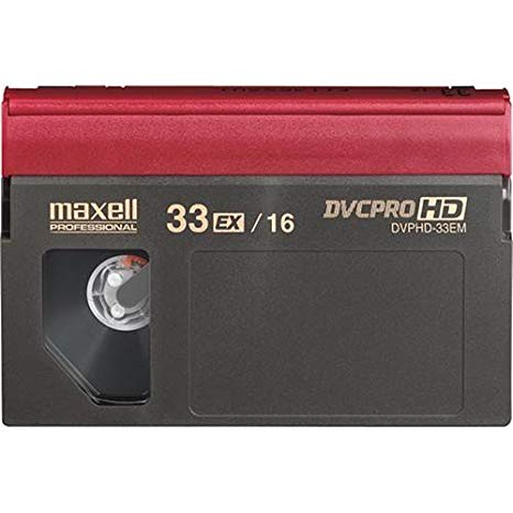 Maxell DVPHD-33M DVCPRO HD VIDEOCASSETTES (海外取寄せ品)
