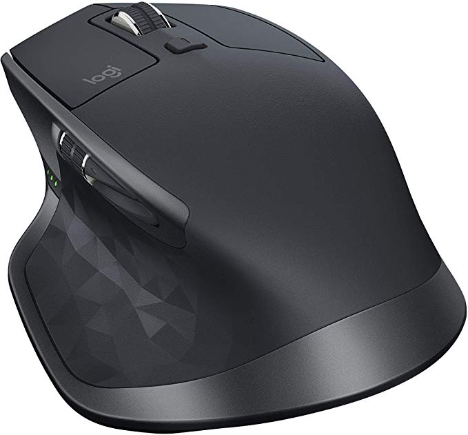 Logitech MX Master 2S Wireless マウス with フロー クロス-コンピューター Control and File Sharing for PC and Mac, グラファイト (海外取寄せ品)