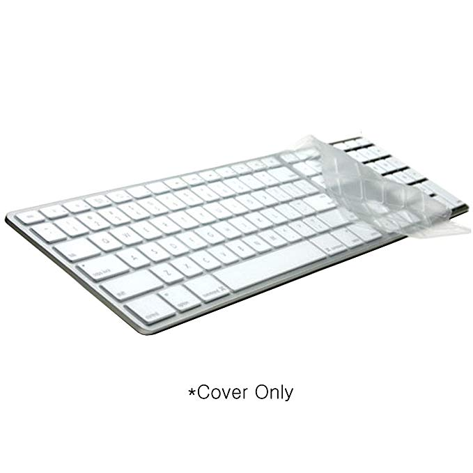 Logickeyboard プロテクティブ Clear LogicSkin カバー Compatible with Apple Aluminum with Numeric Keypad. | シリコン プロテクション Keyboard カバー - LS-M89C-US (海外取寄せ品)