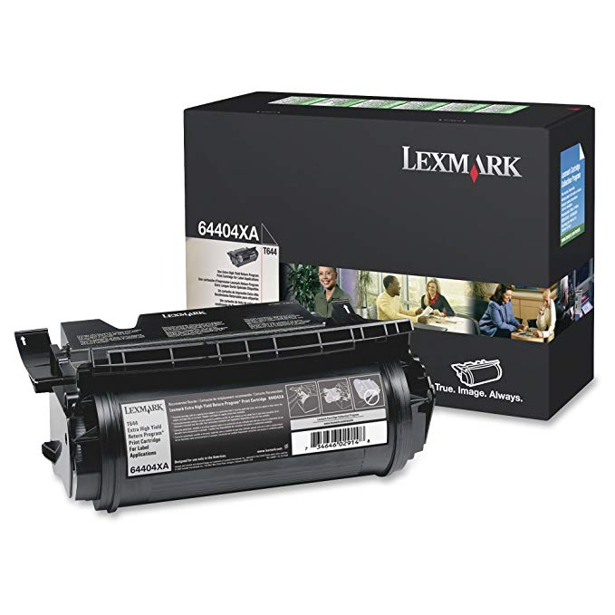 Lexmark 64404XA OEM Toner - T644 エクストラ ハイ Yield Return Program Toner for ラベル Applications (32000 Yield) OEM (海外取寄せ品)