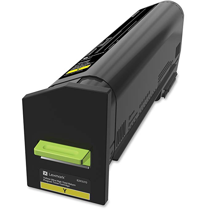 Lexmark 82K1UY0 Toner Cartridge, イエロー (海外取寄せ品)