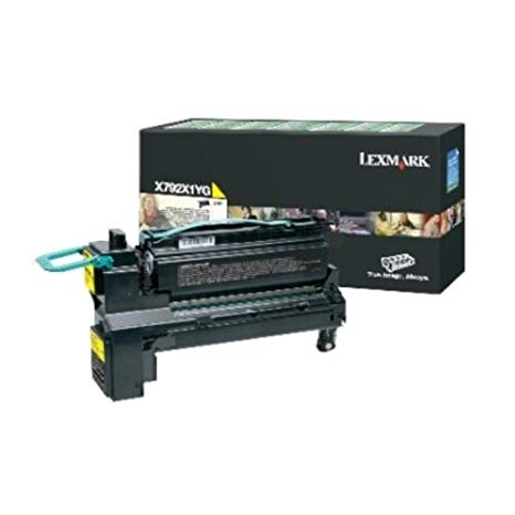 オリジナル Lexmark Toner X792X1YG Yellow; ca. 20000 Pages; fur X 792 (海外取寄せ品)