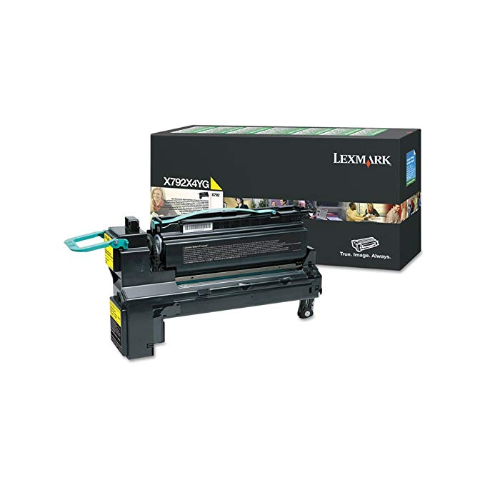 Lexmark エクストラ ハイ Yield イエロー Return Program Toner Cartridge for US Government, 20000 Yield (X792X4YG) (海外取寄せ品)