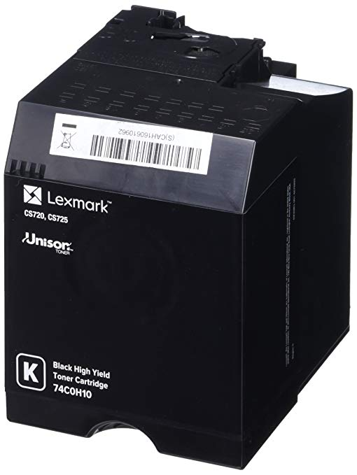 Lexmark ハイ Yield ブラック Toner Cartridge, 20000 Yield (74C0H10) (海外取寄せ品)