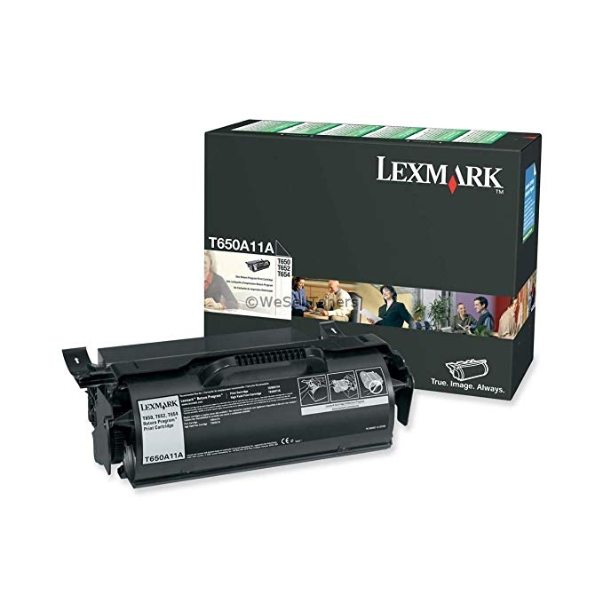 Lexmark T650A11A OEM Toner - T650 T652 T654 T656 Series Return Program Toner (7000 Yield) OEM (海外取寄せ品)