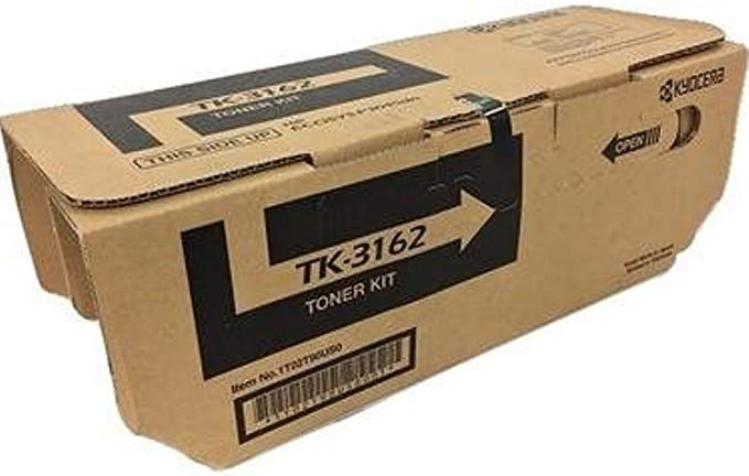 Kyocera 1T02T90US0 Model TK-3162 ブラック Toner Cartridge for ECOSYS P3045dn; Genuine Kyocera; Up To 12,500 ページ (海外取寄せ品)