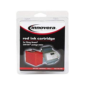 Innovera 7935 Compatible 793-5 Postage メーター Ink, レッド (海外取寄せ品)