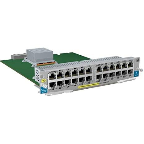 HP J9547A ProCurve Switch zl 24-port 10/100 PoE+ v2 モジュール - インクルーズ 24 RJ45 10/100BASE-TX autosensing ports (Capable of supplying Power オーバー Etherne (海外取寄せ品)