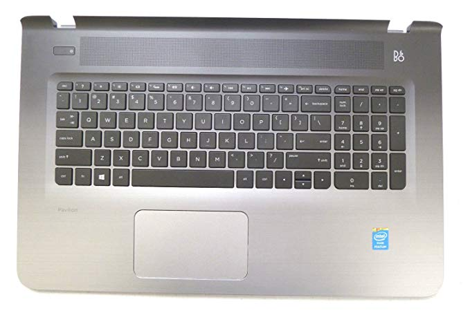New Genuine HP Pavilion 17-G Series Palmrest Touchpad With Keyboard 811552-001 809303-001 (海外取寄せ品)