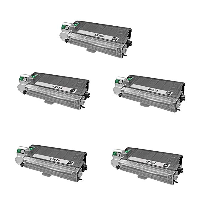 (5 Pack) 100% ブランド Brand NEW Compatible Copier Toner Cartridge Xerox 6r914 (6,000 Pages) for Workcentre Xd100, Xd Series, Workcentre Xd105f, Workcentre Xd104, Workcentre Xd120f, Wor 「汎用品」(海外取寄せ品)