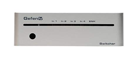 Gefen 4x1 Switcher for HDMI with RS232 (GTV-HDMI1.3-441N) (海外取寄せ品)