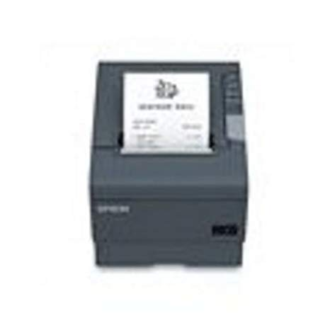 Epson C31CA85A8690 TM-T88V Thermal Receipt Printer, USB and USB with DB9 Serial Interfaces, With PS-180 Power サプライ and AC ケーブル, ダーク グレー 「汎用品」(海外取寄せ品)