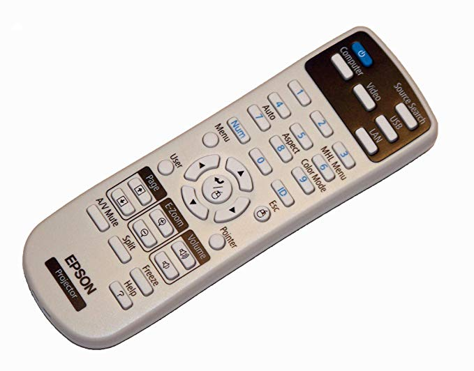OEM Epson Projector Remote Control For Epson PowerLite 965H, PowerLite X27, PowerLite W29, PowerLite S27 「汎用品」(海外取寄せ品)