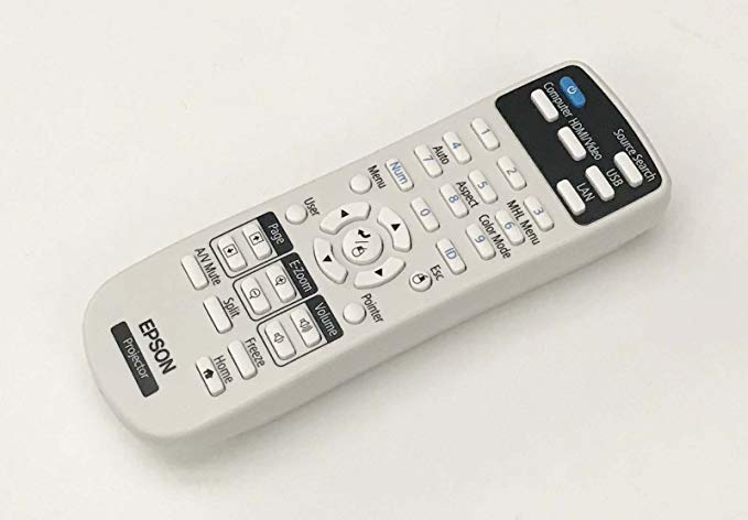 OEM Epson Projector Remote Control シップ With Epson PowerLite S39, W39, X39, X41+, VS350 「汎用品」(海外取寄せ品)