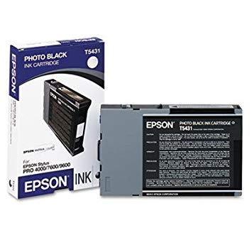 Epson アメリカ T543100 Ultrachrome Ink Cartridge Blk 「汎用品」(海外取寄せ品)