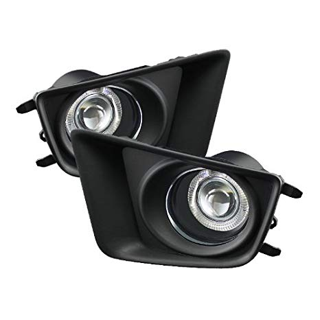 Toyota Tacoma Halo Projector Fog ライト With Clear レンズ (海外取寄せ品)