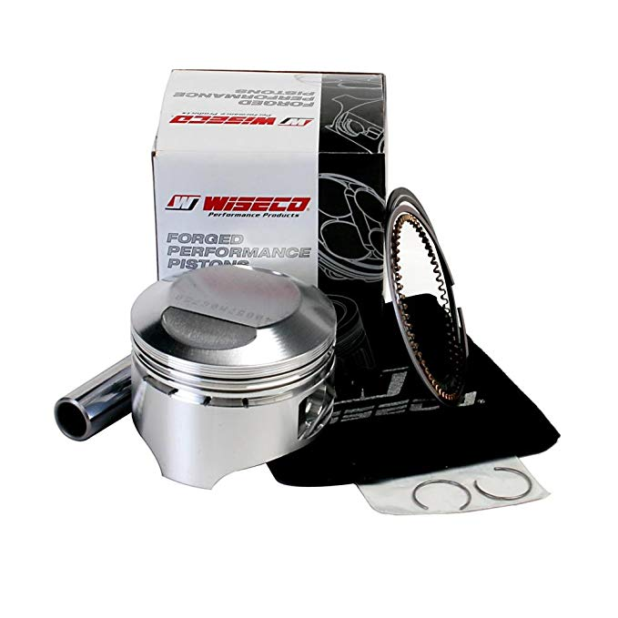 Wiseco 40057M06750 Piston キット - スタンダード Bore 67.50mm, 10.5:1 Compression (海外取寄せ品)