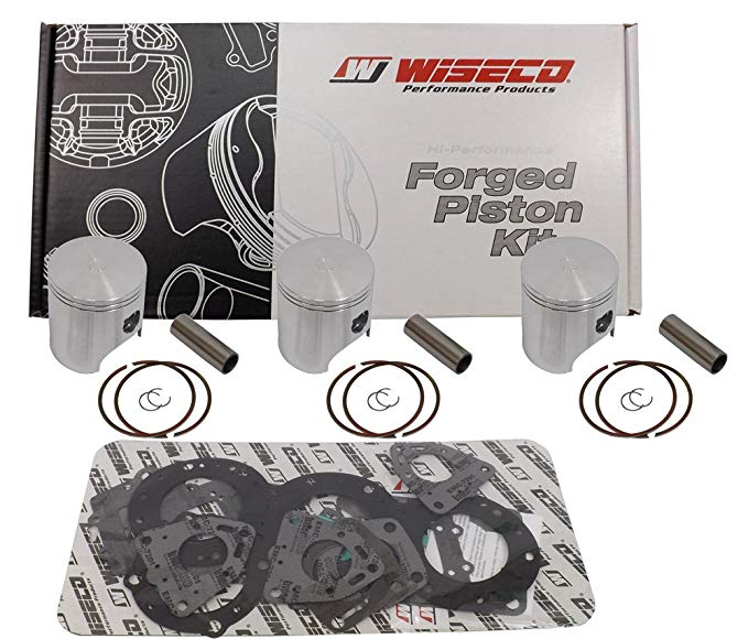 Wiseco SK1265 81.00mm 2-Stroke Piston キット for Arctic Cat Snowmobile (海外取寄せ品)