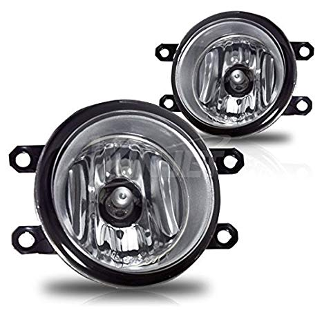 2011-2012 Lexus HS 250H Fog ライト - Clear レンズ - ペア - Left and Right (海外取寄せ品)