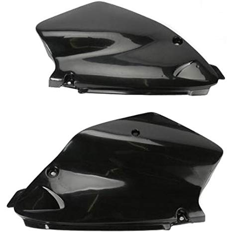 UFO Plastics SD PNL BK CR80 96-02 Body Plastics Side Panels BLK CR80 96-98 - HO03626-001 (海外取寄せ品)