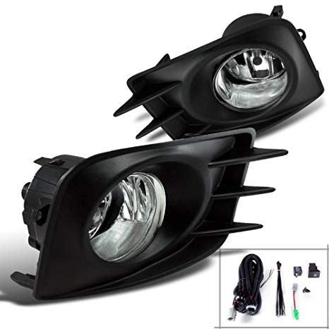 Spec-D Tuning LF-TC10OEM Clear Fog Light (海外取寄せ品)