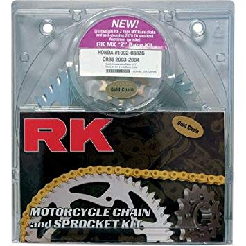 RK クイック ACCELERATION DIRT チェーン AND SPROCKET キット FOR KAWASAKI KX250F 05-07 (海外取寄せ品)