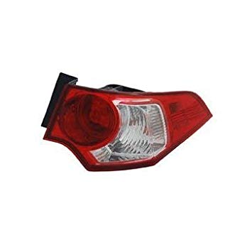 OE リプレイスメント Acura TSX Passenger Side Taillight Assembly (Partslink ナンバー AC2801113) (海外取寄せ品)