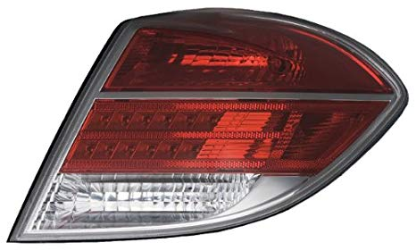 OE リプレイスメント Saturn Aura Passenger Side Taillight Assembly (Partslink ナンバー GM2801228) (海外取寄せ品)