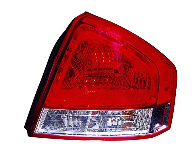 OE リプレイスメント Kia Spectra Passenger Side Taillight Assembly (Partslink ナンバー KI2801132) (海外取寄せ品)