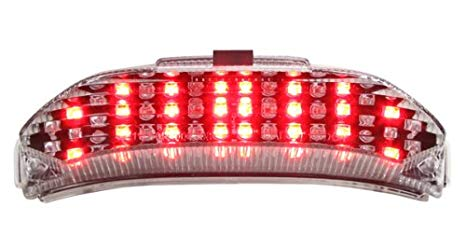 2013-2018 Honda CBR600RR Integrated Sequential LED Tail ライト Clear レンズ (海外取寄せ品)