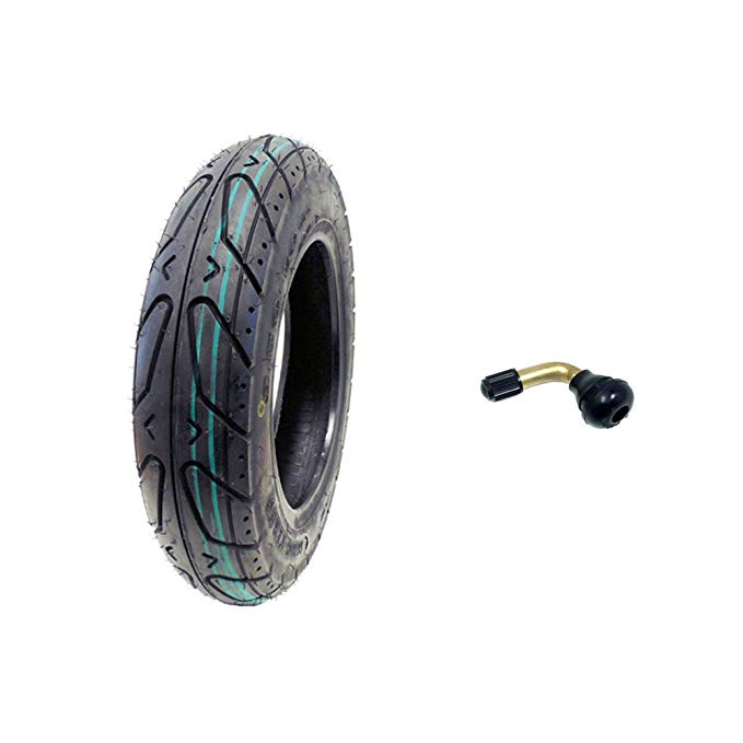 Scooter Tubeless Tire 3.50-10 フロント Rear Motorcycle Moped (Metric 100/90-10) Rim 10