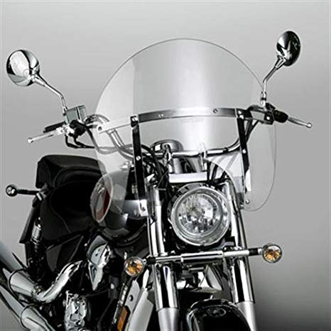 National Cycle SwitchBlade Windshield Chopped Clear (ea) for カワサキ Kawasaki and ヤマハ Models (55-8098) (海外取寄せ品)