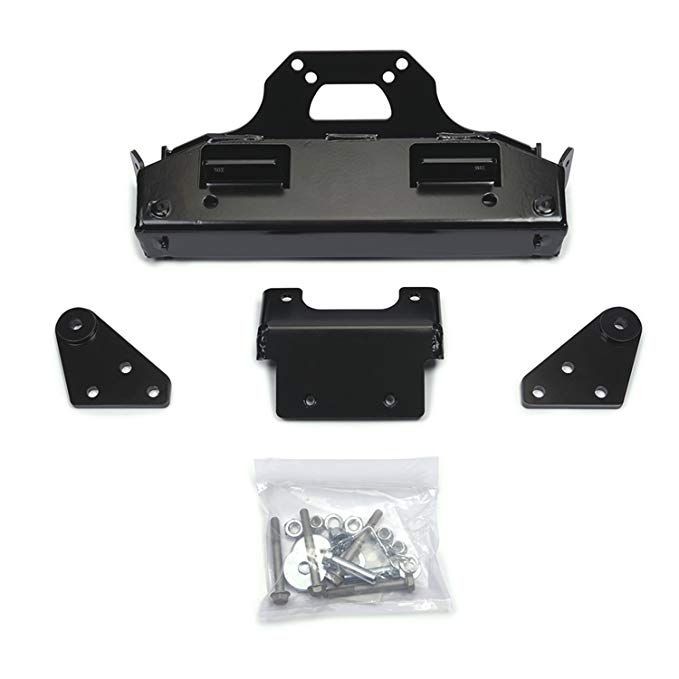 Warn 96322 Plow Mount キット フロント ブラック Powdercoat Plow Mount キット (海外取寄せ品)