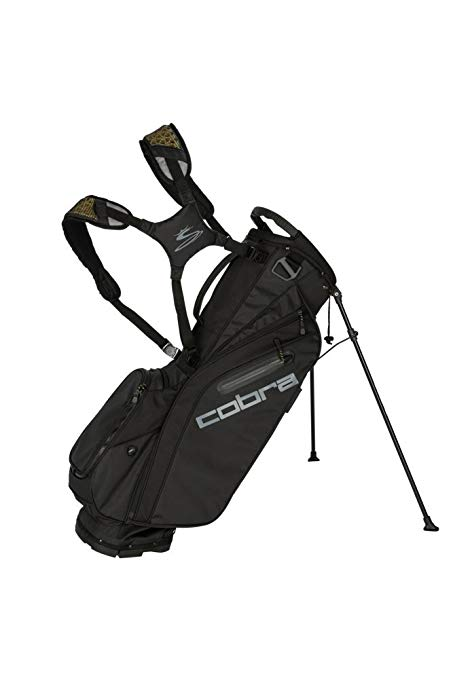 コブラ Golf 2018 Ultralight Stand Bag (Black) (海外取寄せ品)
