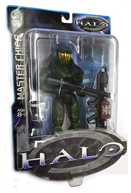 Halo Series 2 Master チーフ (with ロケット Launcher, Shotgun and Pistol) (海外取寄せ品)