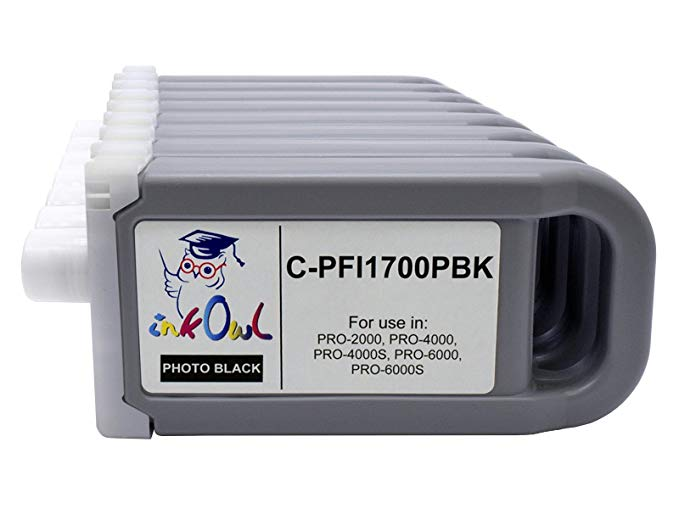 InkOwl - Compatible Ink Cartridge リプレイスメント for Canon PFI-1700 (700ml, 8-pack) for プロ-2000, プロ-4000, プロ-4000S, プロ-6000, プロ-6000S printers (海外取寄せ品)[汎用品]