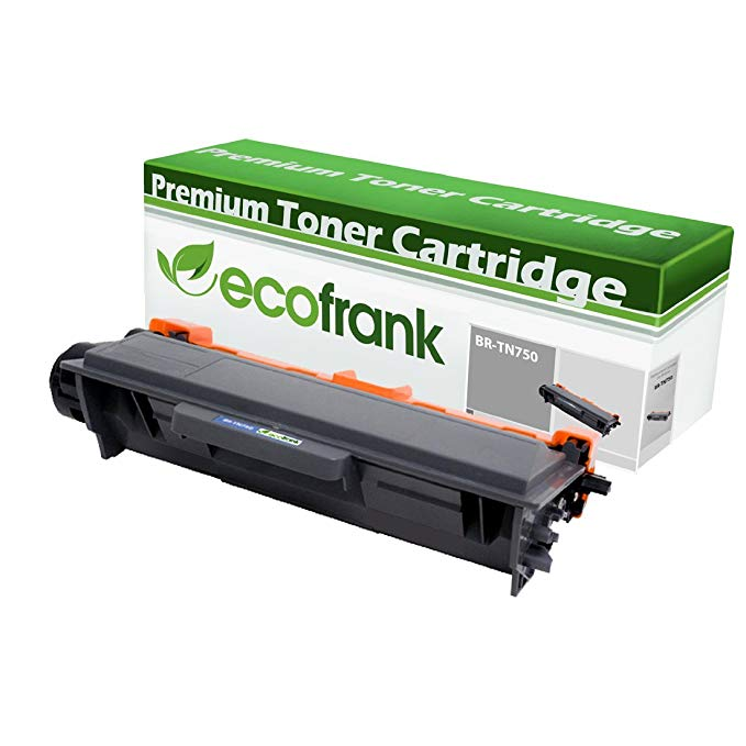 EcoFrank Compatible ハイ Yield Toner Cartridge Replaces Brother TN360 TN330 (Black, 4-Pack) (海外取寄せ品)[汎用品]